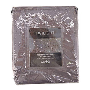 Twilight 72-Inch x 72-Inch Shower Curtain in Grey