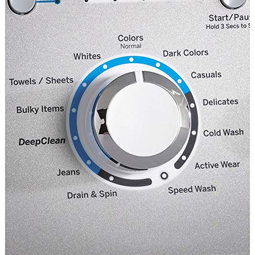 GE 4.5-cu ft High Efficiency Top-Load Washer with Stainless Steel Basket White