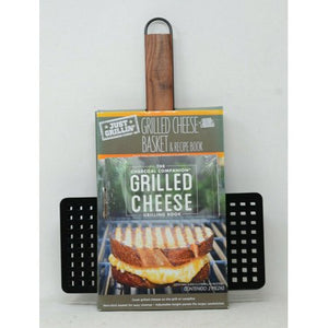 Just Grillin Charcoal Companion Grilled Cheese Basket OutDoor Backyard BBQ Grill