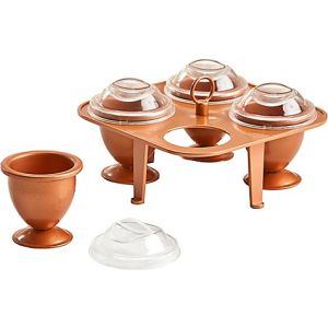 Copper Chef Copper Eggs XL, 4 Piece Set