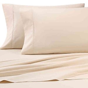 Heartland® HomeGrown™ 325-Thread-Count Cotton Percale King Fitted Sheet in Ivory