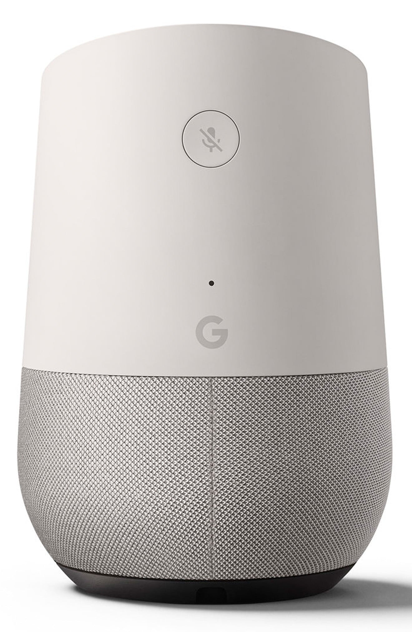 Home - Smart Speaker with Google Assistant - White/Slate