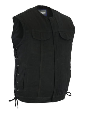 DM978 Denim Material, Upgraded Style Gun Pockets, All black construct