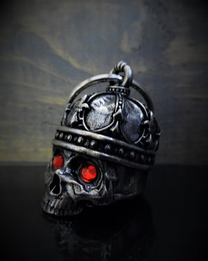 BB-75 King Skull Diamond Bell