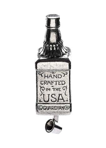 GB Whiskey B Guardian Bell® GB Whiskey Bottle