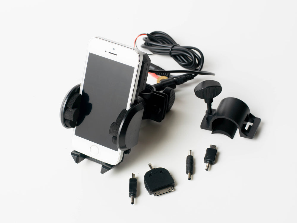 06-660 Plug & Go Handlebar Phone Holder and Charger