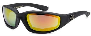 8CP924-RV Choppers Foam Padded Sunglasses - Assorted - Sold by the Do