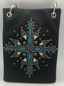 CHIC780-BLK Compass Arrow design with a boho feel