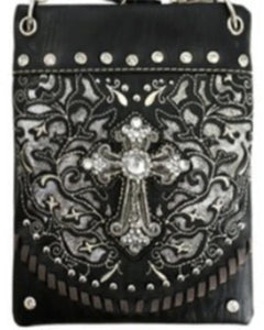 CHIC189-BLK Cross design