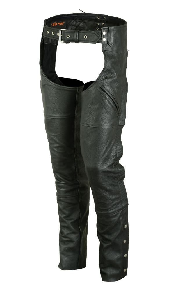 DS488 Unisex Deep Pocket Thermal Lined Chaps