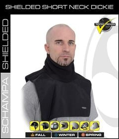 TD011 Dickie- Shielded Short Neck- Half Chest Back