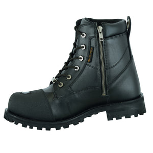 DS9741 Men's Side Zipper Waterproof Ankle Protection Boots