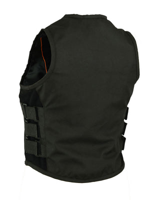 DS212BK Women's Textile Updated SWAT Team Style Vest