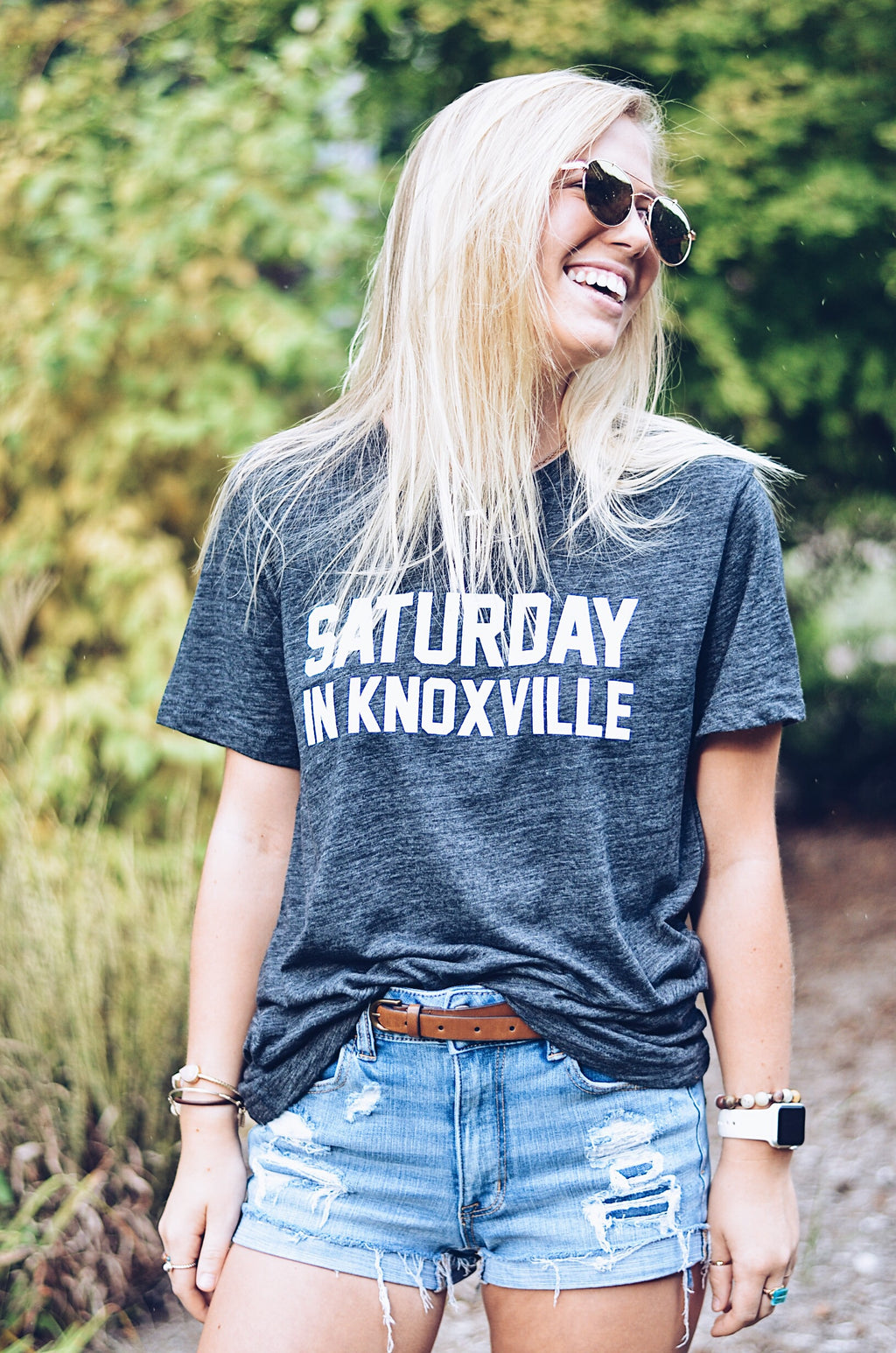Saturday In Knoxville T-Shirt, Dark Gray