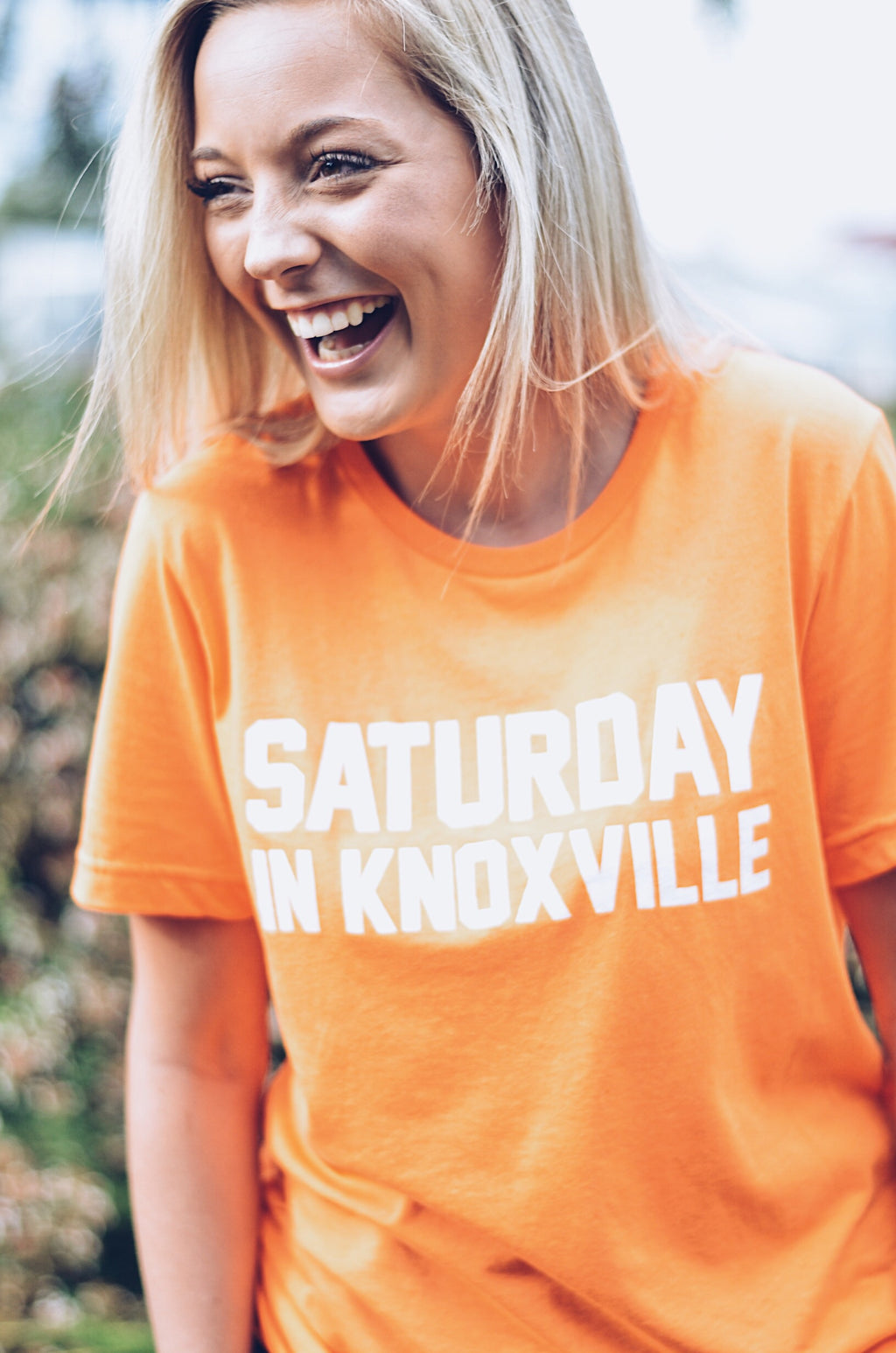 Saturday In Knoxville T-Shirt, Neon Orange