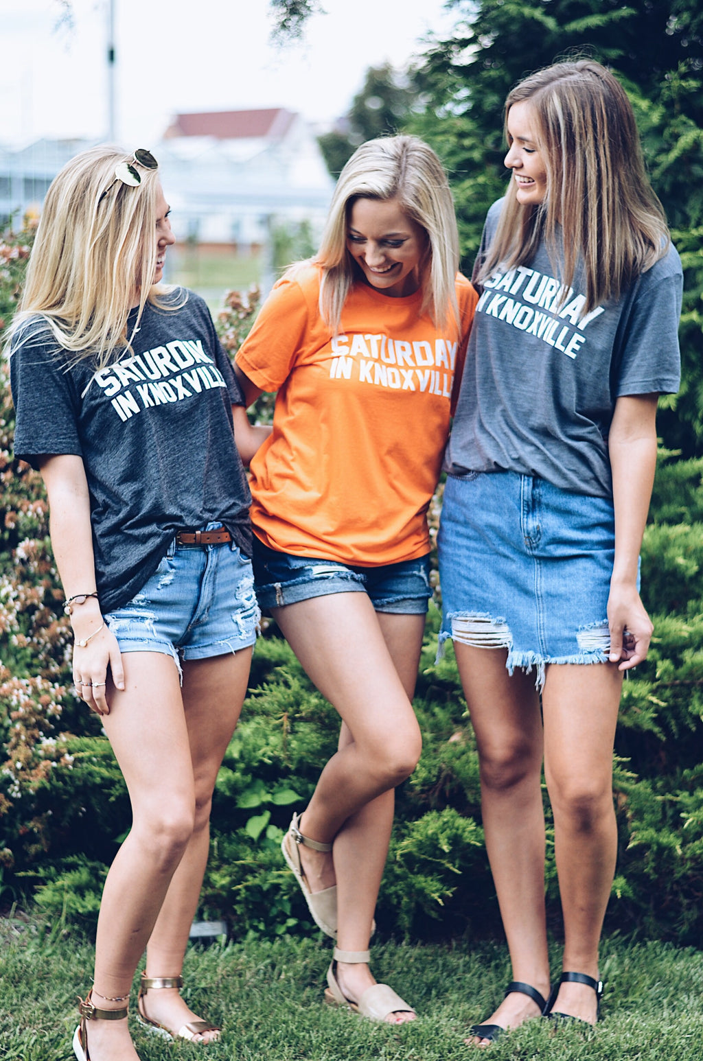 Saturday In Knoxville T-Shirt, Heather Gray