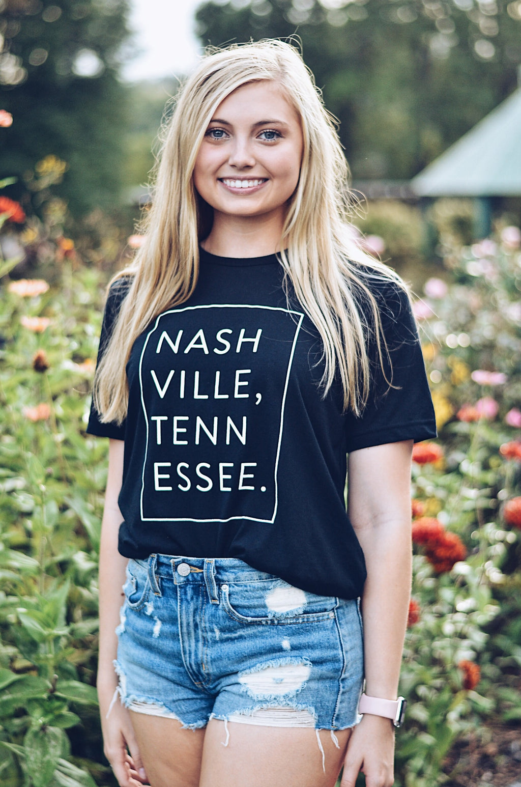 Signature Sticky T-Shirt in Black, NASHVILLE