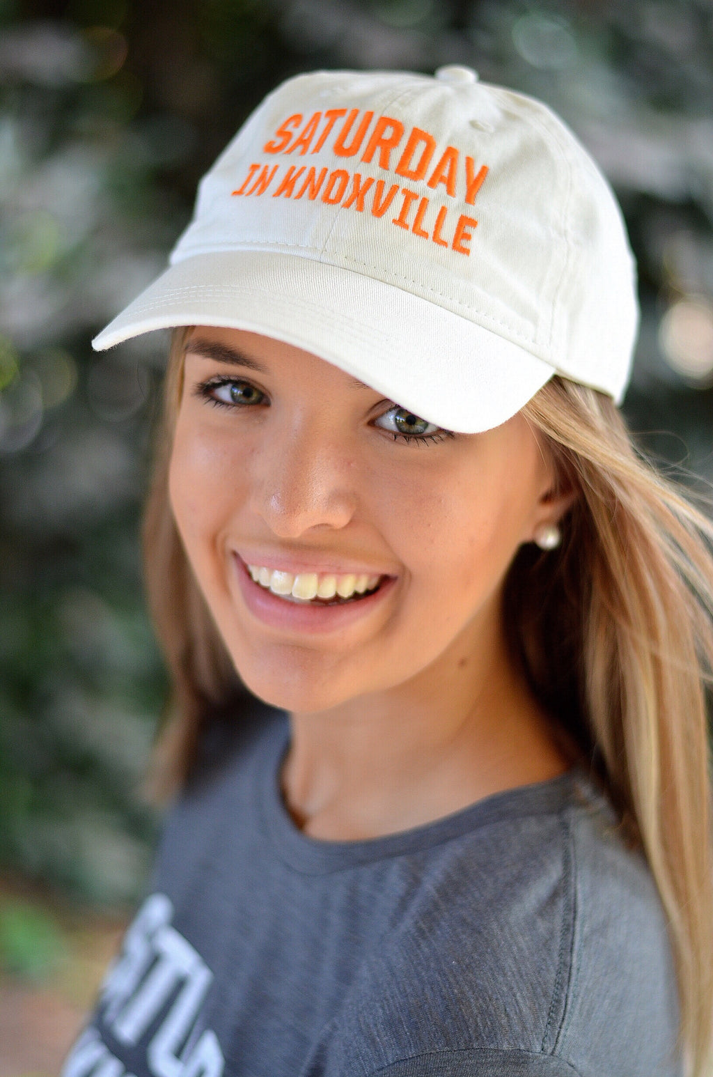 Saturday In Knoxville Hat, White