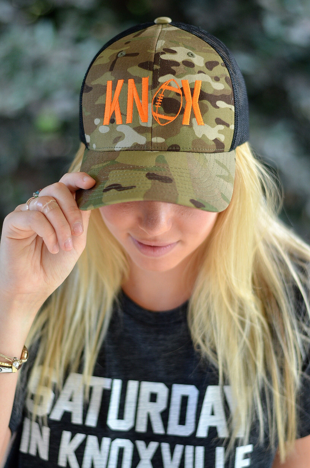 KNOX Football Trucker Hat, Camo