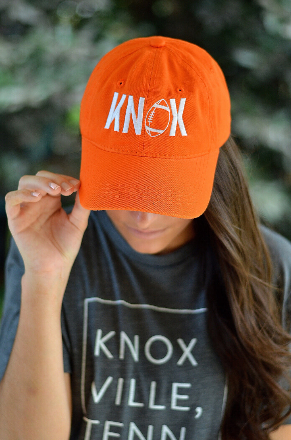 KNOX Football Hat, Orange