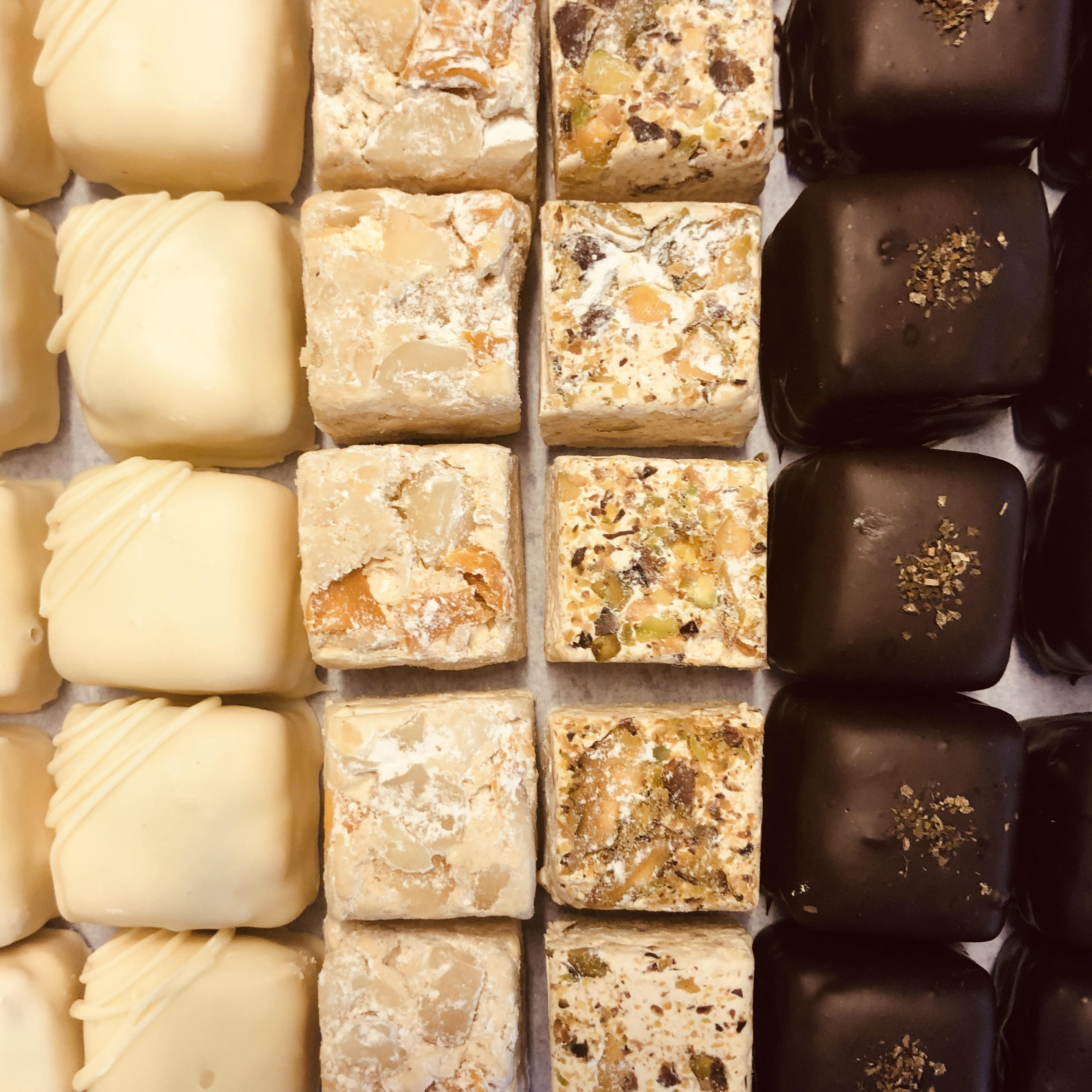 Pick-a-Mix  Artisan Nougat Selection of 15