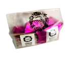 Load image into Gallery viewer, Mixed Bag 10s of Rose Turkish Delight in Dusting and Milk Chocolate