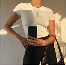 Load image into Gallery viewer, Corset White T-Shirt