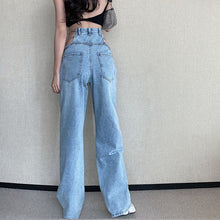 Load image into Gallery viewer, Chains Cut Out Jeans