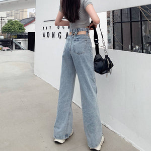 Pocket Cut Out Jeans