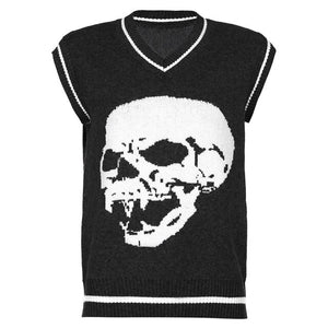 Skully Sweater Vest (available in more colours)