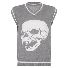 Load image into Gallery viewer, Skully Sweater Vest (available in more colours)