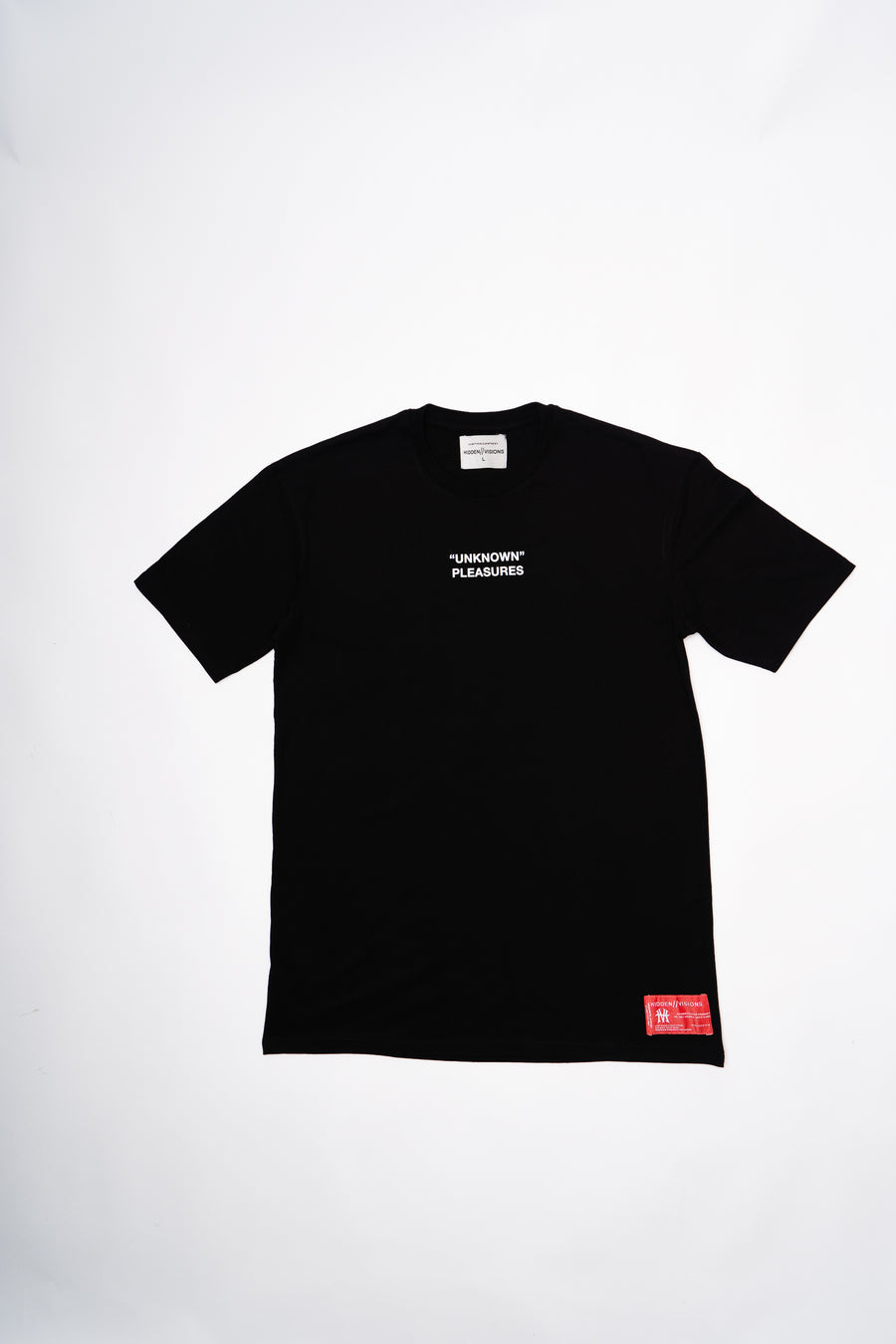 UNKNOWN PLEASURES T-SHIRT BLACK