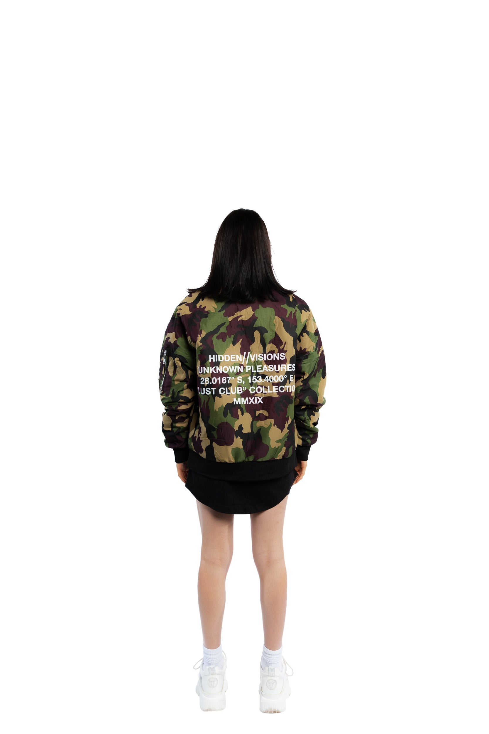 """Co-Ords"" Bomber Jacket - Camo"