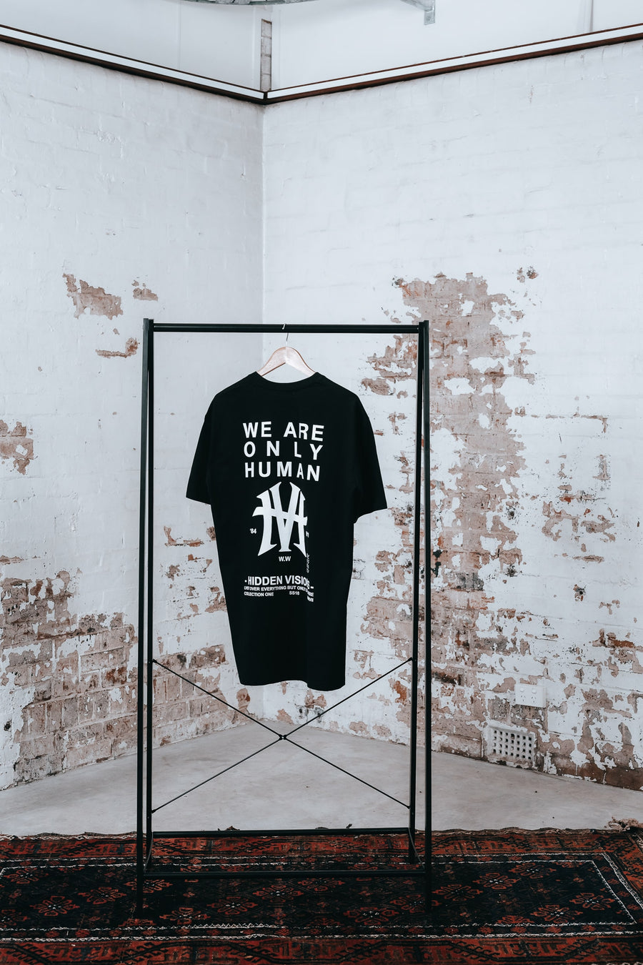 WE ARE ONLY HUMAN T-SHIRT