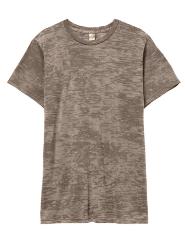 Coffee-Talk Crushed Velvet Lavender T-Shirt