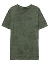 Green Burnout Crew Tee - thecodexclub