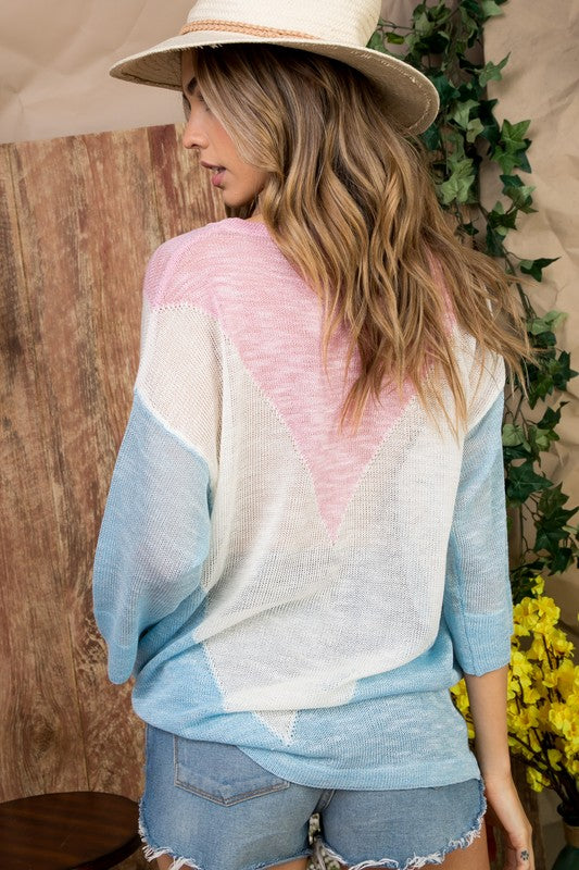 Pastel Patriot Sweater