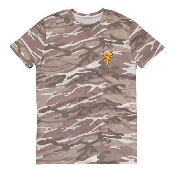Pizza Camouflage T-Shirt