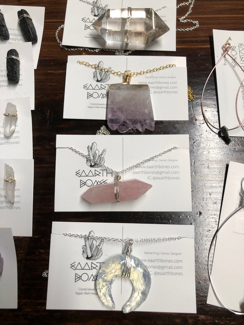 Necklaces by Eaarthbones Jewelry