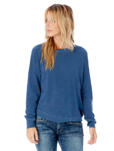 TCC Lazy Day Burnout French Terry Pullover Sweatshirt