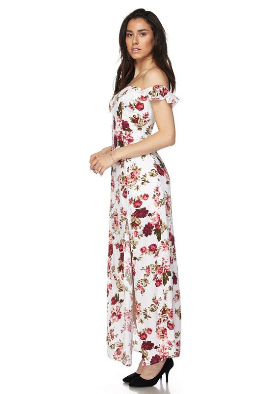 Stephanie Floral Maxi Dress