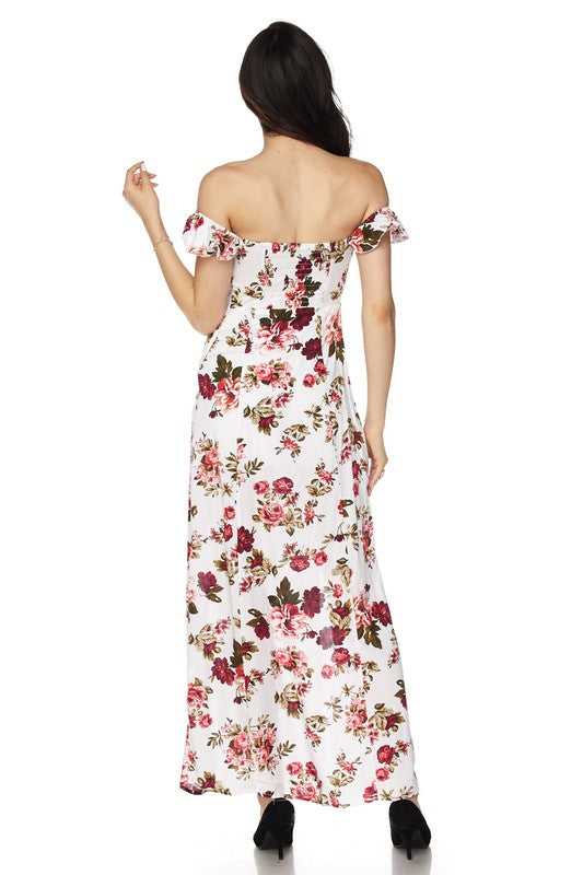 Stephanie Rose Floral Maxi Dress