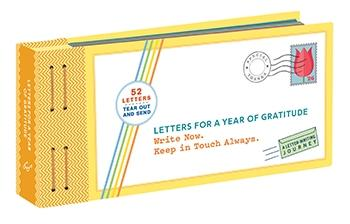 Letters for a Year of Gratitude Book