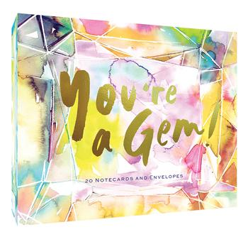 You're a Gem! 20 Notecards and Envelopes