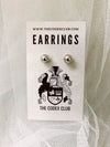 Pirate Hoop Stud Earrings