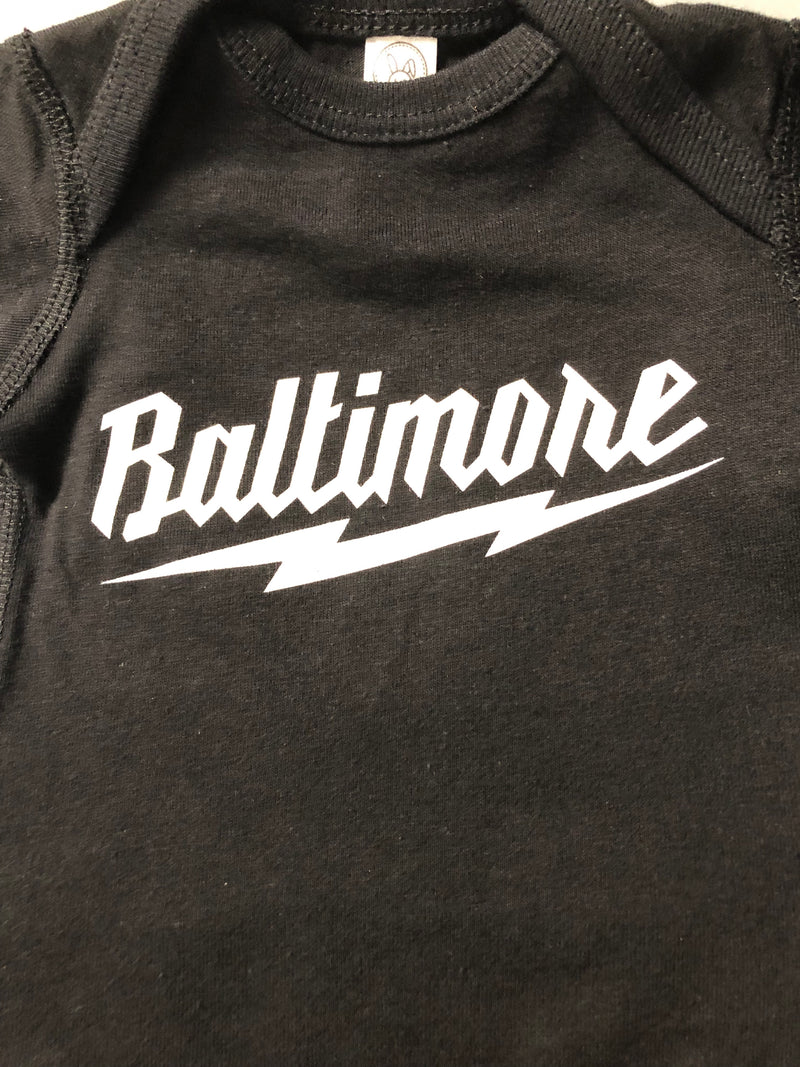 'Baltimore' Baby Onesies by Pangea Printing