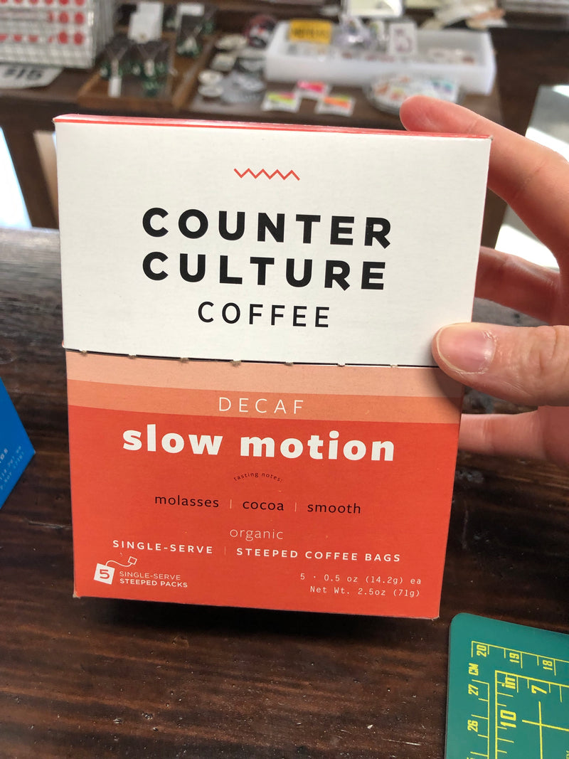 Single Serve Packets from Counter Culture Coffee