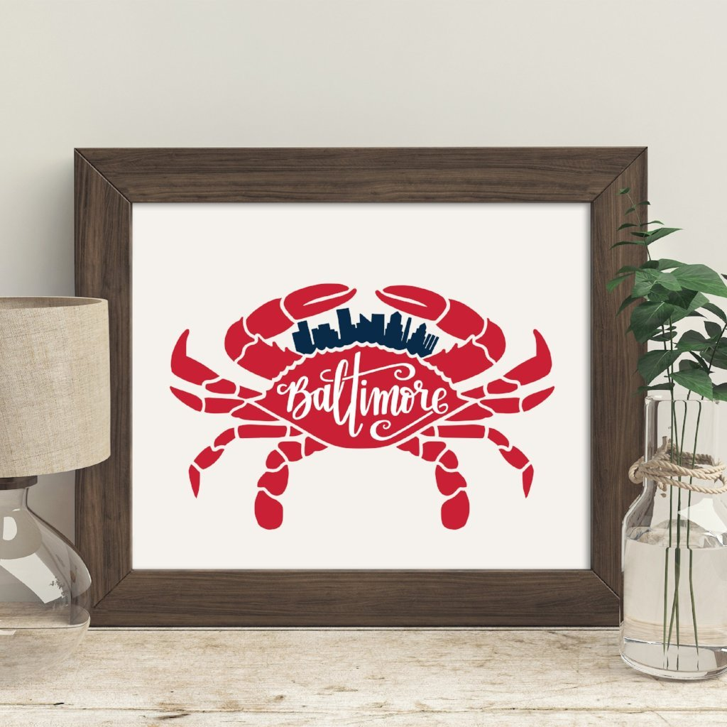 Baltimore Crab 8x10 Poster