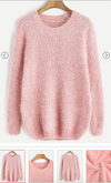 Cozy Fluffy Sweater - thecodexclub