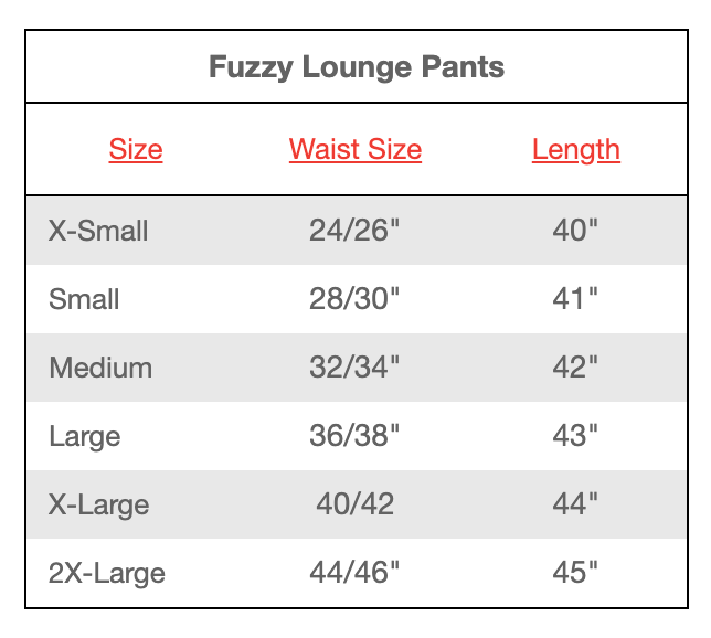 Maryland Flag Fuzzy Lounge Pants